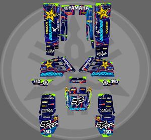 Yamaha banshee full graphics sticker kit decals ATV