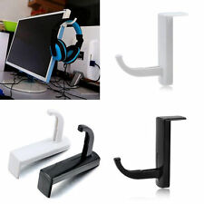 Headphone Headset Earphone Holder Rack Wall PC Monitor Hanger Stand Hook .RANDOM