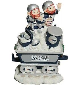 Danbury MintNew England Patriots Christmas Express Train Cart NFL Football