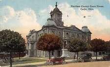 Cadiz Ohio Harrison County Court House Antique Postcard J46087