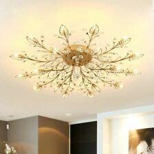 Lighting Chandelier Home Ceiling Fixtures Modern Elegant Crystal Style Shadeless