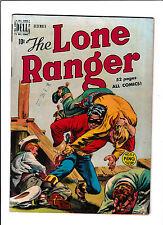 "LONE RANGER #18  [1949 VG-FN]  ""THE HOODED GANG OF TERRORISTS"""