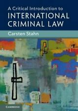 A Critical Introduction to International Criminal Law 9781108436397 | Brand New