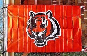 NEW Cincinnati Bengals Flag 3x5 Banner Football Sports Licensed NFL Nylon Banner