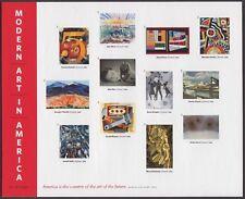 2013 Modern Art in America pane of 12 forever stamps Scott 4748