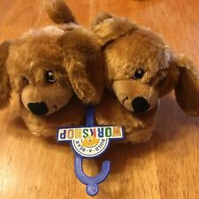 Brand New With Tags Build a Bear Workshop Character Dog � Slippers Size 10-11 S
