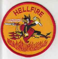 Vintage Hellfire Patch / Army Apache Helicopter Insignia