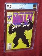 Incredible Hulk #377 CGC 9.6 3rd print   1st Professor Hulk