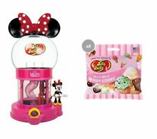 COMBO - JELLY BELLY MINNIE MOUSE DISPENSER + 8 X CANDY CONES JELLY BEAN MIX