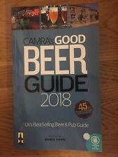 CAMRA Good Beer Guide 2018 Excellent Clean Condition
