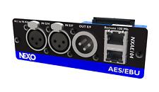 More details for nexo nxae104  aes/ebu network card for nxamp - new
