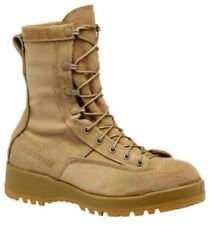 NEW Belleville 790 V Tan Waterproof Flight Combat Boots Made in USA Size 11.0 W