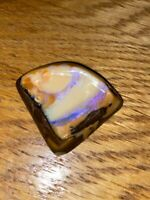 High End Australian Yowah Boulder opal. 64cts