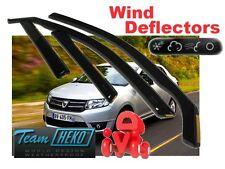 DACIA LOGAN  II  2013 -   4.doors Wind deflectors 4.pc set HEKO 13112