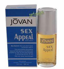 JOVAN SEX APPEAL BY COTY 3.0 OZ EDC SPRAY FOR MEN NIB