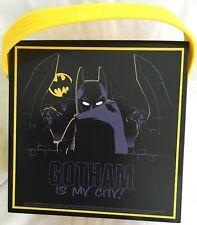 Lego Batman Lunch Box avec poignée//Portable Boîte de Rangement-Noir