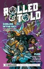 Rolled & Told #1, NM 9.4, 1st Print, 2018 Flat Rate Shipping-Use Cart