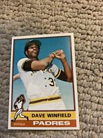 Dave Winfield  #160 1976 Topps Baseball Card Cb17