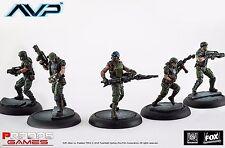 Nuevo Alien vs Predator comienza la caza USCM Marines Juego de placa de expansión Avp UK