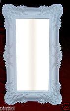 Miroir mural blanc bad-friseur-bar BAROQUE ANTIQUE 97x57 Grand de sale bain