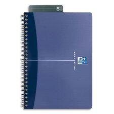 Oxford Office 100102938 Essentials  Lot de 5 Cahier reliure spirale 180 pages 90
