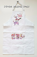 DISNEY Parks 2016 EPCOT International Food & Wine Festival Chef FIGMENT Apron