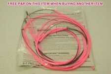 CLARKS MTB PINK MOUNTAIN BIKE CABLE ET FOR SHIMANO DIA-COMPE LEVERS TEFLON COATE