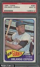 1965 Topps #360 Orlando Cepeda HOF San Francisco Giants PSA 9 MINT