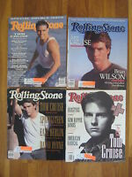 vintage Tom Cruise lot of 4 ROLLING STONE MAGAZINES 1988 1990 1992 sam kinison