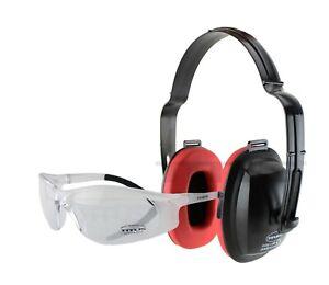Titus Eco Set Ear Muff & Eye Protection Shooting Firing Range Noise Reduction
