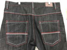 Dodeca Jeans For Men/ Size 40*32- Dark Wash With Red Stitching
