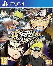 Naruto Ultimate Ninja Storm Trilogy [Sony PlayStation 4 PS4, Bandai Namco] NEW