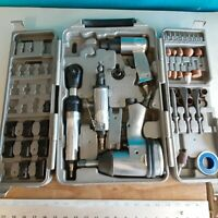 Trades Pro DIY Starter Air Tool Set + Accessories with Storage Case