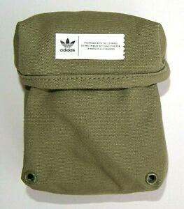 Pouch Olive Adidas Originals AY9000 Bag Mini Zipper Pocket Purse Sacs Unisex