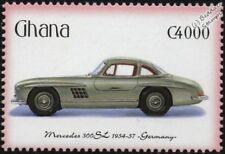1954-1957 MERCEDES-BENZ 300SL Mint Automobile Car Stamp (2001 Ghana)