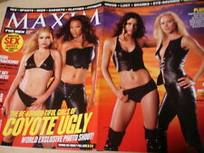 august 2000 Maxim #32 Maria Bello Tyra Banks Bridget Moynahan cover Coyote Ugly