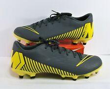 Nike Mercurial Vapor 12 Academy Mg Fg Grey Soccer Cleats Sz 9 New Ah7375 070
