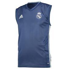 Adult S Real Madrid Training Sleeveless Jersey - Purple M174