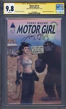 Motor Girl #1 1st Print CGC 9.8 SS Terry Moore Signed and Sketched!