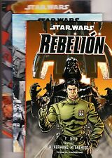Star Wars: REBELIÓN (Colección completa de 3 tomos) Planeta DeAgostini, 2011.