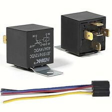 12V Automotive Changeover Relay 40A 5-Pin SPDT Switching Relay with Socket