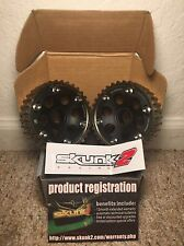 SKUNK2 BLACK SERIES ADJUSTABLE CAM GEARS: HONDA ACURA B16 B18 B20 B-SERIES