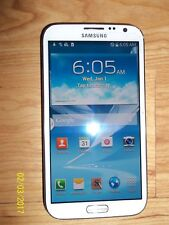 Samsung Galaxy Note II-SCH I605-16GB Marble White-(Straight-Talk-Only !!)