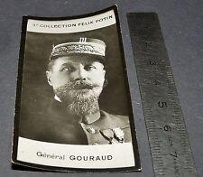 PHOTO IMAGE FELIX POTIN 3ème ALBUM 1920 GENERAL GOURAUD MILITAIRE GUERRE
