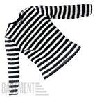 Mezco One:12 Pink Skulls Chaos Club - Striped Jail Shirt Rumble Society PSCC