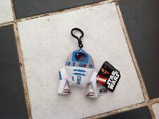 """Original De Star Wars R2-D2 Astro Mech Droid 4"""" Peluche Llavero Llavero"""