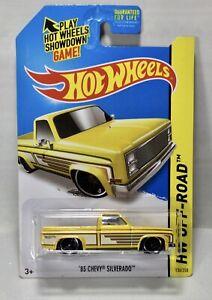 HTF Hot Wheels HW Off-Road '83 Chevy Silverado 1/64 Diecast Truck
