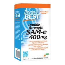 Doctors Best SAM-e, 400mg x 30 Tablets - Joints & Arthritis, Mood, Liver Health