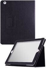 The new iPad (iPad 3) UrbanFlip Series Black Leather Case