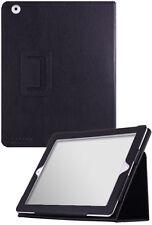 The new iPad (iPad 3) UrbanFlip Series Black Leather Case